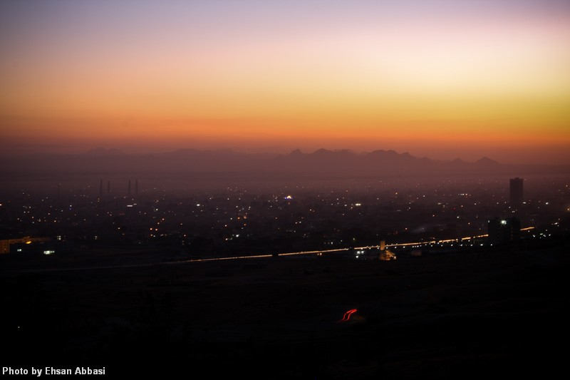 Sunset Over Herat