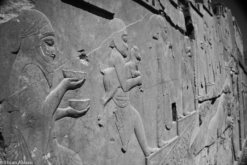 Detail of a relief at Persepolis