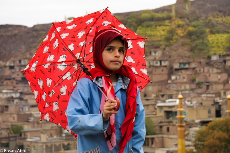 The Girl & The Red Umbrella