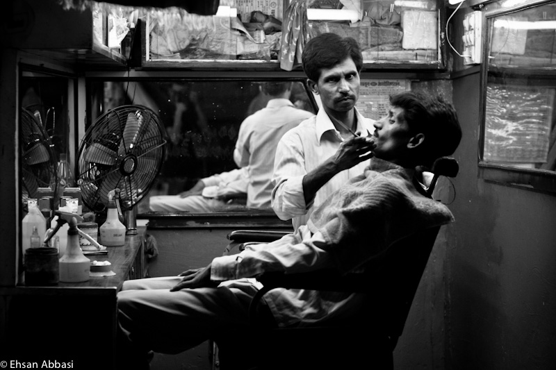 The Barber in Mumbai