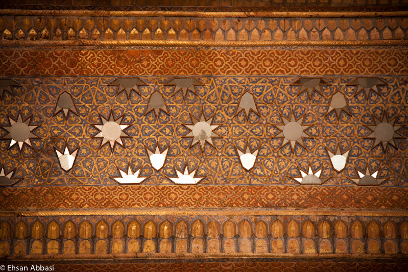 The Ceiling of Chehel Sotoun