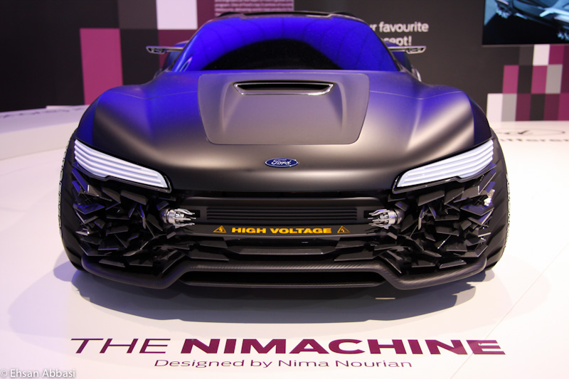 The Nimachine at 2011 Australian Motor Show