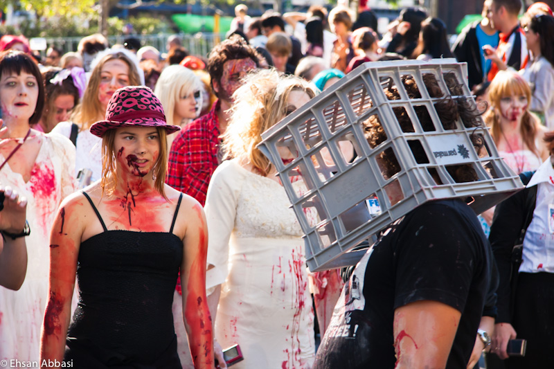Melbourne Zombie Shuffle 2010