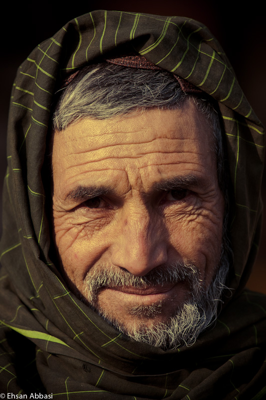 Portrait of a Man in Herat