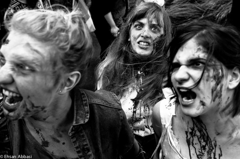 Melbourne Zombie Shuffle 2012